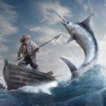 """Tóm tắt truyện """"Ông già và biển cả"""""""