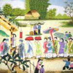 Bức họa mùa xuân qua 4 câu thơ đầu bài Cảnh ngày xuân