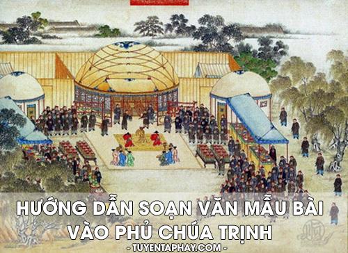 Vào phủ chúa Trịnh
