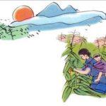 Phân tích Bài thơ Khúc hát ru những em bé lớn trên lưng mẹ