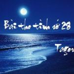 Soạn bài Bài thơ số 28 củaR.Tagore
