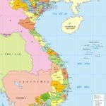 Tả tấm bản đồ Việt Nam