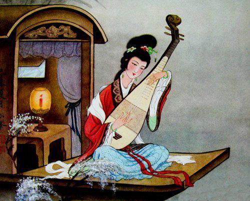 Phân tích đoạn thơ miêu tả tiếng đàn lần thứ hai trong Tì Bà Hành