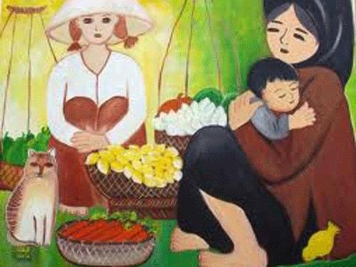 Phân tích nhân vật bé Hồng trong đoạn trích Trong Lòng Mẹ