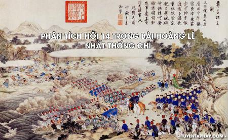 Phân tích nhân vật vua Quang Trung trong Hoàng Lê Nhất Thống Chí