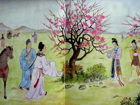 Soạn bài cảnh ngày xuân của Nguyễn Du