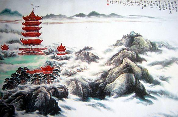 Soạn bài lầu Hoàng Hạc của Thôi Hiệu tại soanbai123.com