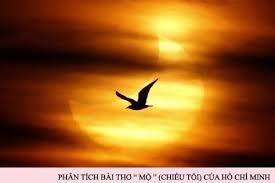 Phân tích bài thơ Chiều Tối (Mộ) của Hồ Chí Minh