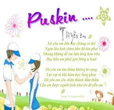Soạn bài tôi yêu em của Pu-Skin