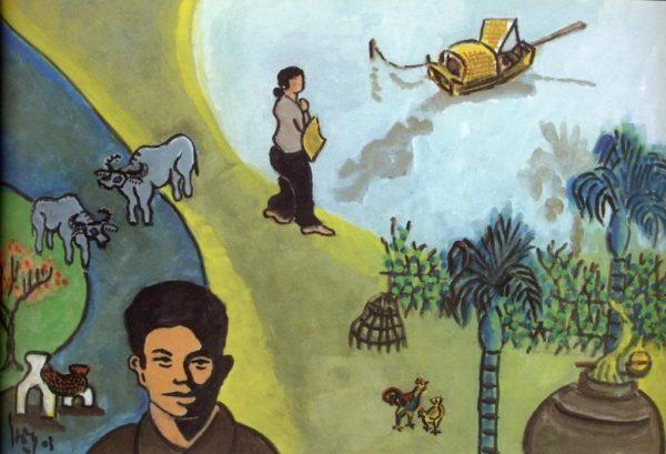 Soạn bài tương tư của Nguyễn Bính