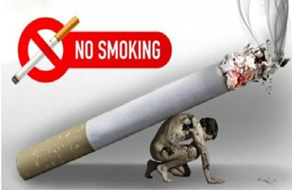 Hiện nay nhiều bạn học sinh tập hút thuốc trong khi cả xã hội đang tuyên chiến với thuốc lá