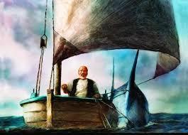 Image result for Ernest Hemingway ngu ong va bien ca