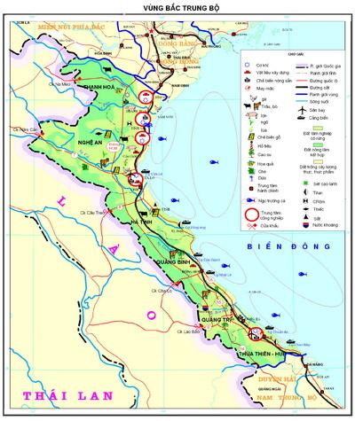 Thực hành kinh tế biển của Bắc Trung Bộ và Duyên hải Nam Trung Bộ
