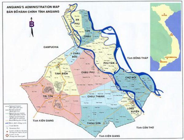Bài 44: Địa lí địa phương – địa lí tỉnh An Giang