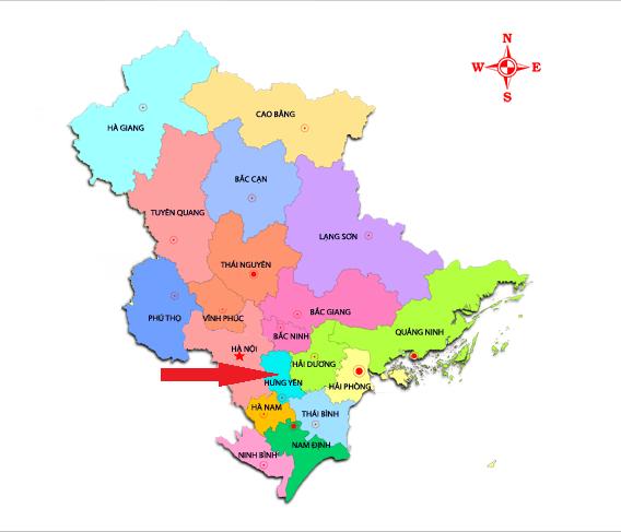 Bài 43: Địa lý địa phương – Địa lý tỉnh Hưng Yên