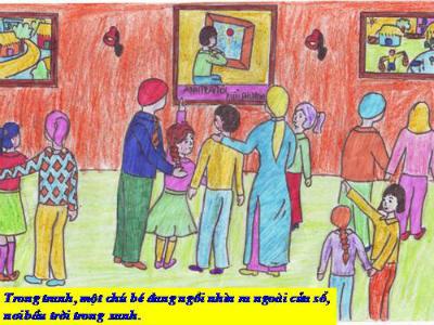 Phát biểu cảm nghĩ về truyện Bức tranh của em gái tôi của Tạ Duy Anh