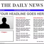 Topic 30: The importance of the newspaper