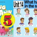 Unit 14: What Happened In The Story?
