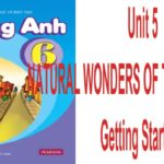 Unit 5: Natural Wonders of The World-Getting Started