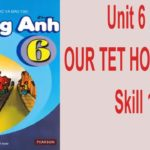 Unit 6: Our Tet Holiday-Skills 1
