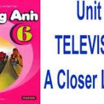 Unit 7: Television-A closer look 1