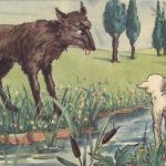 Chó sói và cừu trong thơ ngụ ngôn của La-Phông-Ten