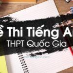 Đề thi thử THPT Quốc Gia môn Anh trường Hoàng Quốc Việt, Yên Bái