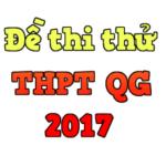 Đề thi thửmôn Toán THPT Lý Chính Thắng