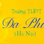 Đề thi thửmôn HóaTHPT Đa Phúc, Hà Nội - Đề 1