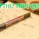 Đề thi thử THPT Quốc gia năm 2017 môn Sinh học trường THPT Đa Phúc, Hà Nội - Đề 1