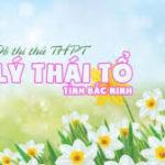 Đề thi thử THPT Quốc gia năm 2017 môn Sinh học trường THPT Lý Thái Tổ, Bắc Ninh