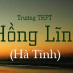 Đề thi thử THPT Quốc giaTHPT Hồng Lĩnh, Hà Tĩnh lần 1
